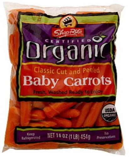ShopRite Classic Cut and Peeled Baby Carrots - 16 oz
