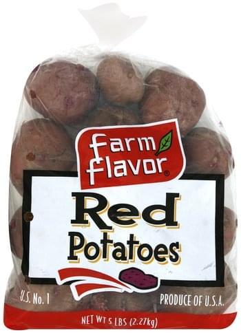 Farm Flavor Red Potatoes - 5 lb