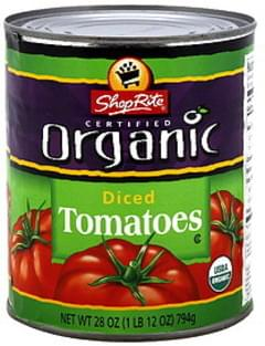 ShopRite Diced Tomatoes