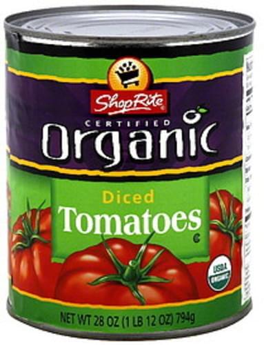 ShopRite Diced Tomatoes - 28 oz