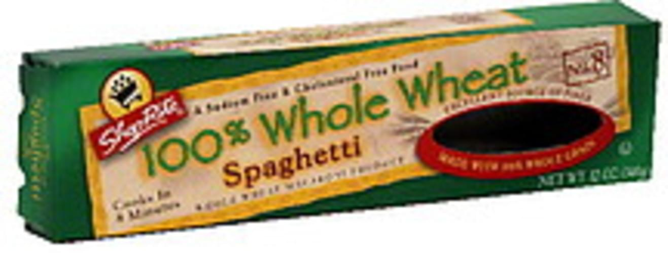 ShopRite No. 8, 100% Whole Wheat Spaghetti - 12 oz