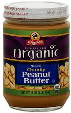 ShopRite Peanut Butter Chunky