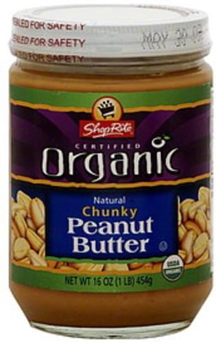 ShopRite Chunky Peanut Butter - 16 oz