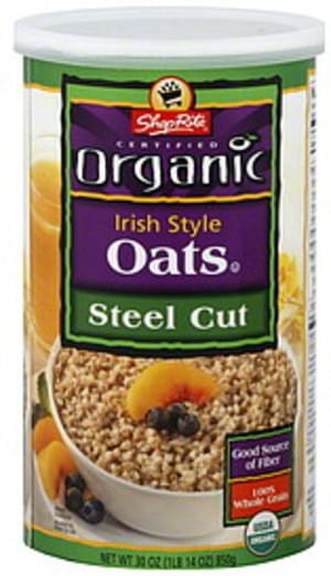 ShopRite Irish Style, Steel Cut Oats - 30 oz