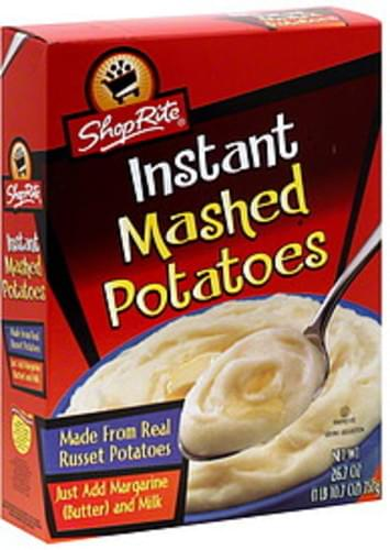 ShopRite Instant Mashed Potatoes - 26.7 oz
