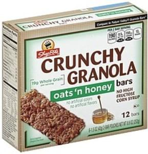 ShopRite Granola Bars Oats 'n Honey, Crunchy