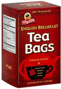 ShopRite Tea Bags English Breakfast
