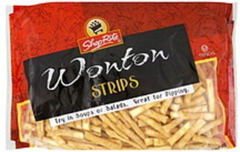 ShopRite Wonton Strips