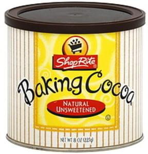 ShopRite Baking Cocoa Natural Unsweetened