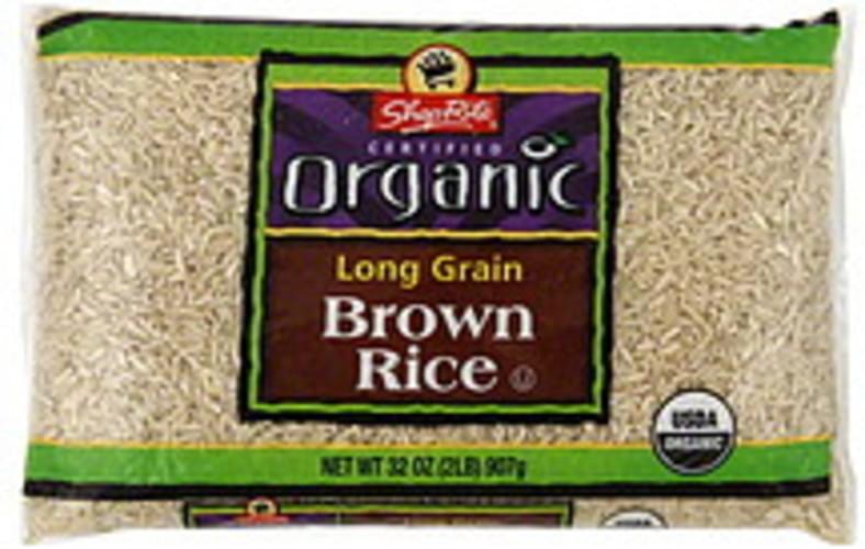 ShopRite Long Grain Brown Rice - 32 oz