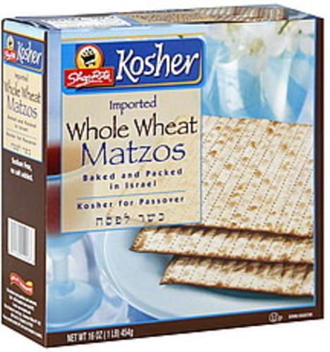 ShopRite Whole Wheat Matzos - 16 oz