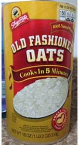 Shop Rite Old Fashioned Oats