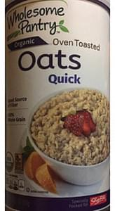 Wholesome Pantry Organic Quick Oats Oven Toasted