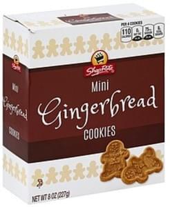 ShopRite Cookies Gingerbread, Mini