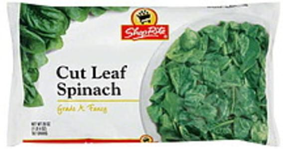 ShopRite Spinach Cut Leaf