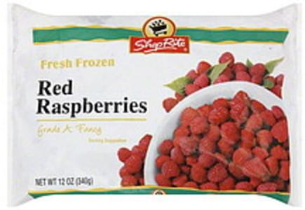 ShopRite Red Raspberries