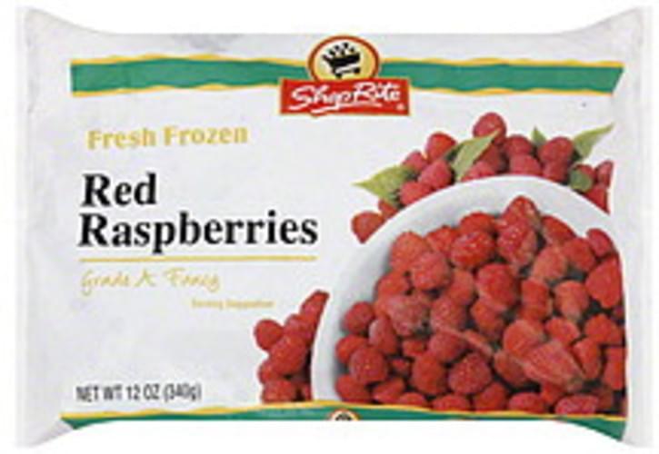 ShopRite Red Raspberries - 12 oz