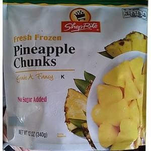 Shop Rite Pineapple Chunks