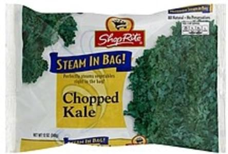 ShopRite Kale Chopped, Steam in Bag