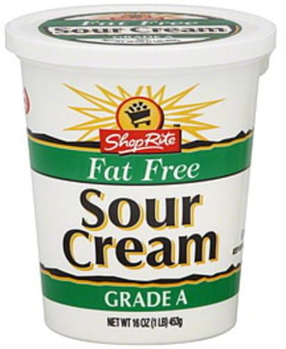ShopRite Sour Cream - 16 oz