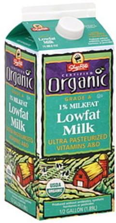 ShopRite Milk Lowfat, 1% Milkfat