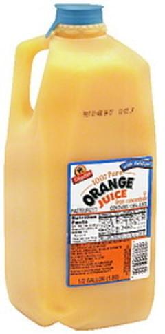 ShopRite 100% Pure Orange Juice  with Calcium