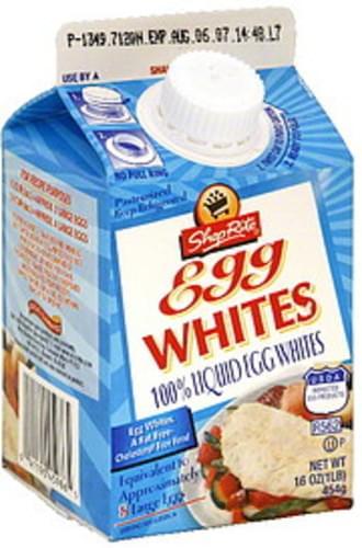 ShopRite Egg Whites - 16 oz
