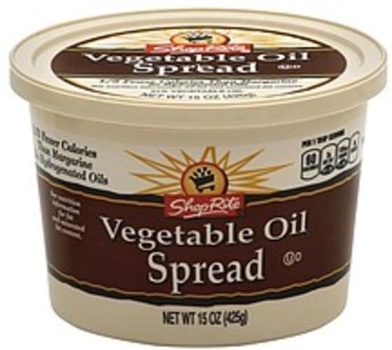 ShopRite 51% Vegetable Oil Spread - 15 oz