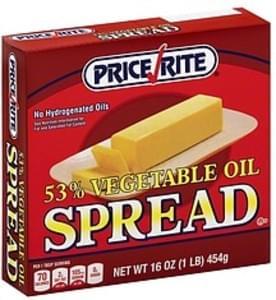 PriceRite Vegetable Oil Spread 53%