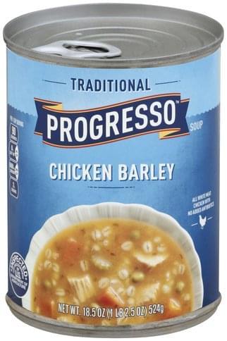 Progresso Chicken Barley Soup - 18.5 oz