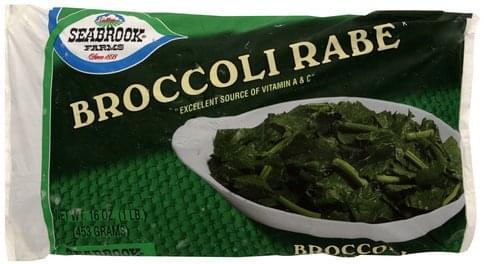 Seabrook Broccoli Rabe - 16 oz