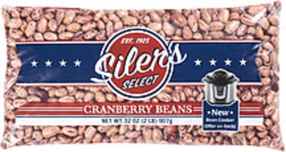 Siler's Select Cranberry Beans - 32 oz
