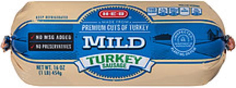 Aldi Kirkwood Mild Turkey Breakfast Sausage (023405) - 16 oz