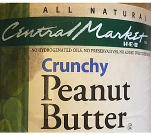 Central Market Crunchy Peanut Butter - 32 g