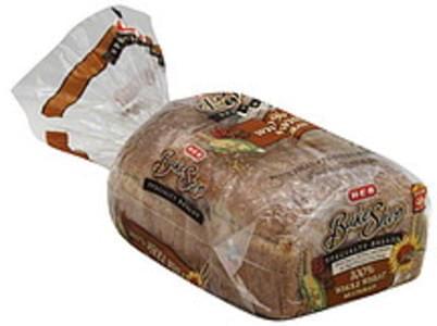 H-E-B Bread Baked, 100% Whole Wheat Multigrain