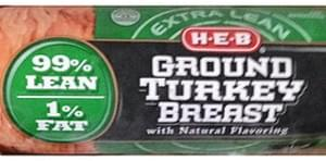 H-E-B Ground Turkey Breast