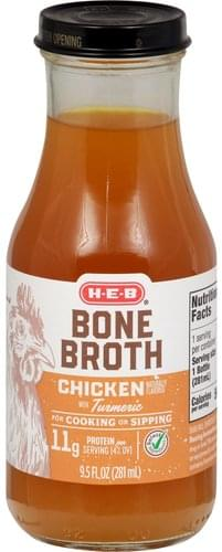 Heb Chicken with Turmeric Bone Broth - 9.5 oz