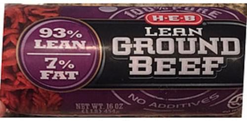 H-E-B Lean Ground Beef - 112 g