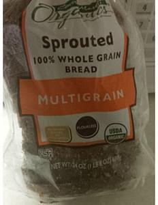 Central Market Bread Sprouted Whole Grain
