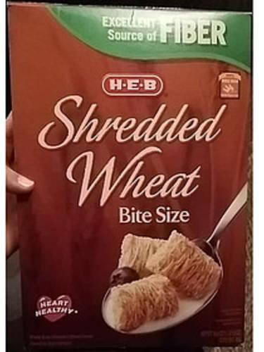 H-E-B Bite Size Shredded Wheat Cereal - 55 g