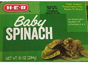 H-E-B Baby Spinach