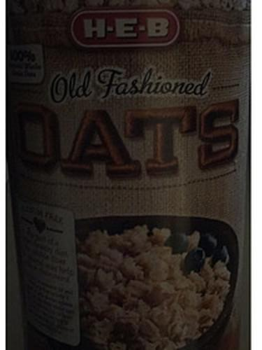 H-E-B Old Fashioned Oats - 40 g