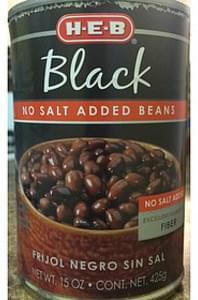 H-E-B Black No Salt Added Beans