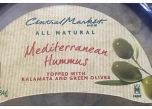 H-E-B Mediterranean Hummus