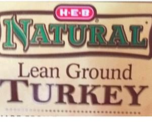 H-E-B Lean Ground Turkey