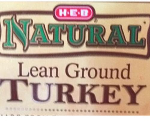 H-E-B Lean Ground Turkey - 112 g