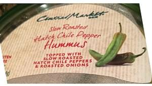 Central Market Slow Roasted Hatch Chili Pepper Hummus