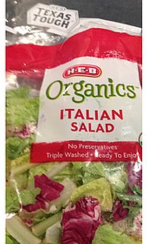 H-E-B Organics Italian Salad - 85 g