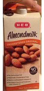 H-E-B Unsweetened Almondmilk