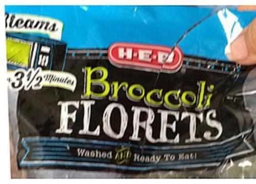 H-E-B Broccoli Florets - 85 g